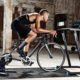 Binnen trainen op de fiets