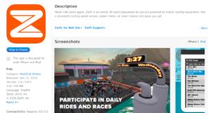 Nu ook meedoen met races op Zwift via je iPad